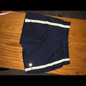 Pants - Dark blue shorts